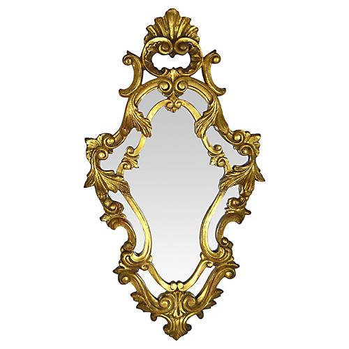 Syroco Florentine Gilt Mirror