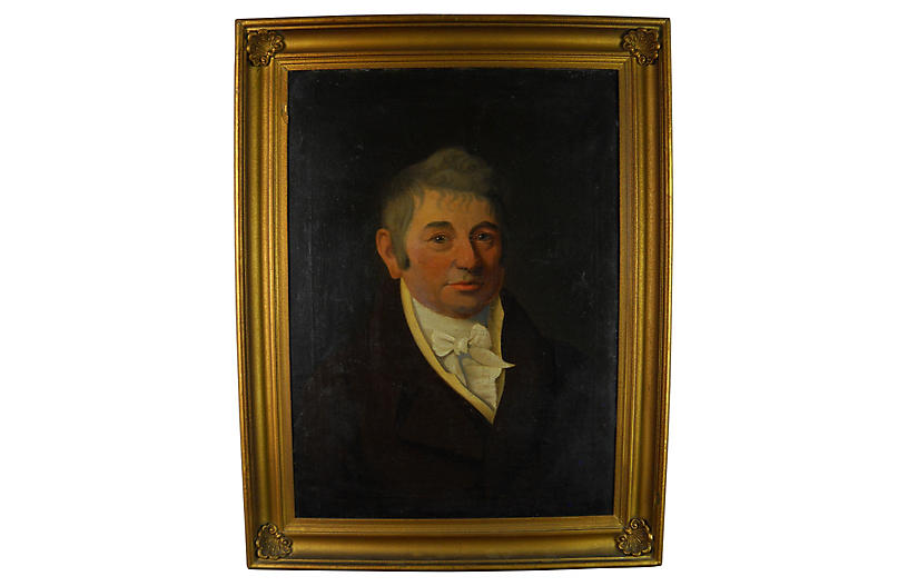 Portrait Connecticut Merchant, C.1815