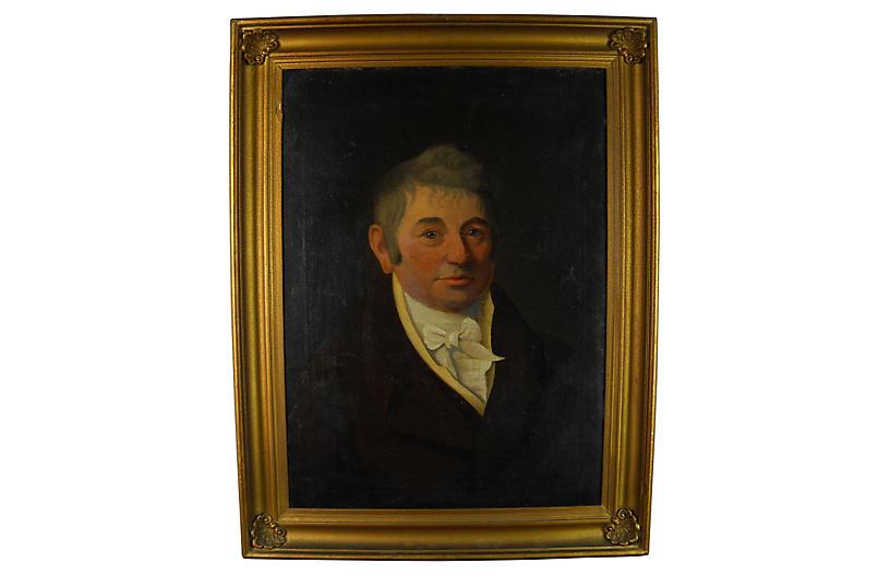 Portrait Connecticut Merchant, C.1815