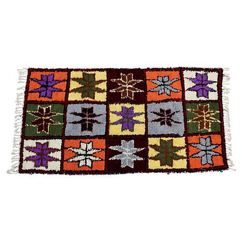 Moroccan Rug, 6'6'' x 3'6''
