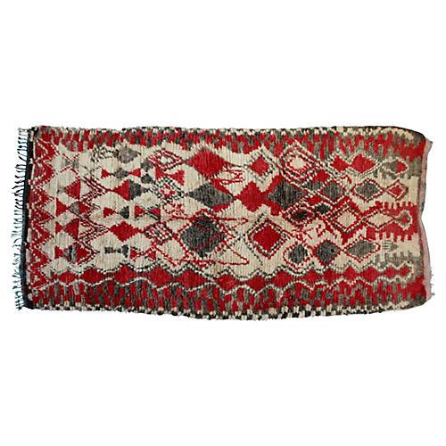 Moroccan Rug, 10'9'' x 4'10''