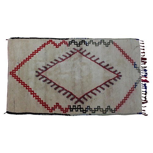 Moroccan Rug, 6'3'' x 3'6''