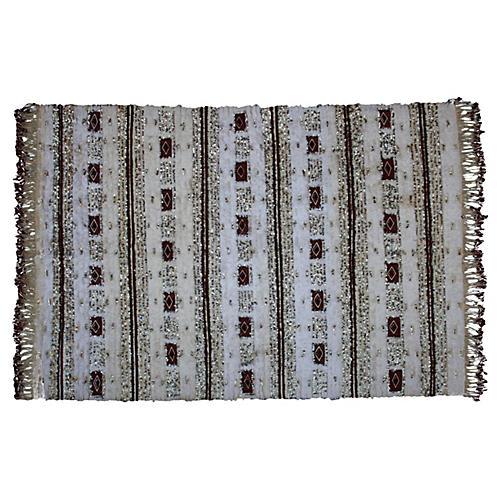 Moroccan Wedding Blanket w/ Diamonds