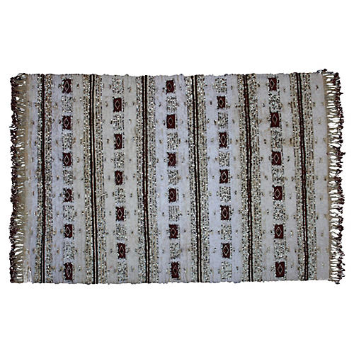 Moroccan Wedding Blanket w/ Diamonds