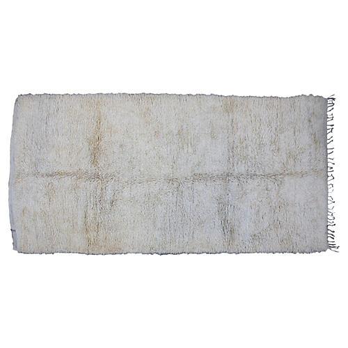 Moroccan Beni Ourain Rug, 13'3'' x 6'3''