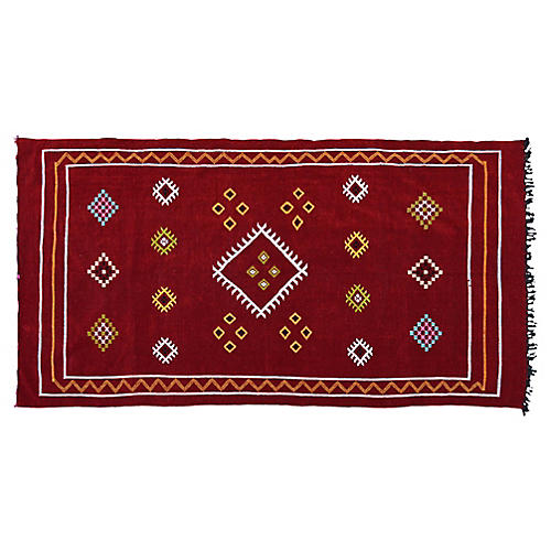 Moroccan Rug, 8'2'' x 4'5''