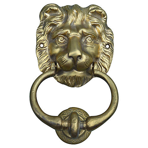 Moroccan Atlas-Lion Door Knocker