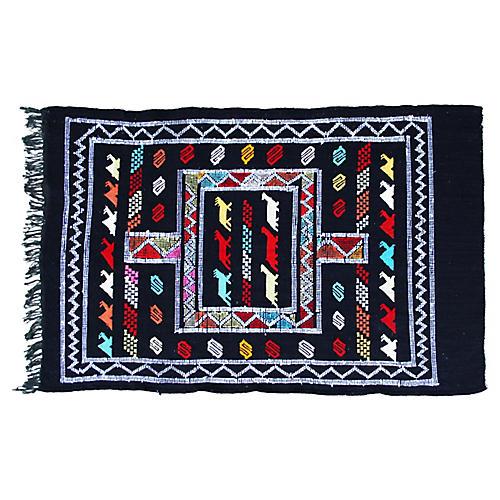 Moroccan Rug, 3' x 4'6''