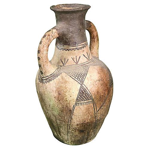 Moroccan Water Vessel w/ Berber Tattoos