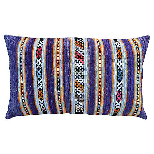Purple Moroccan Pillow