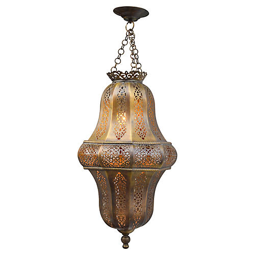 Moroccan Ceiling Light w/ Moorish Design