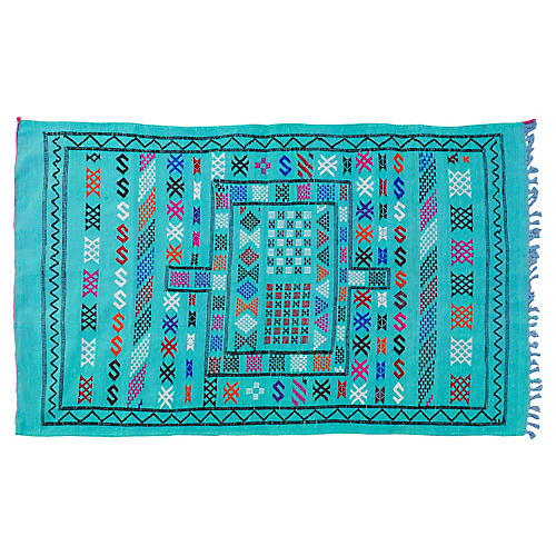 Moroccan Rug, 4'10'' x 3'