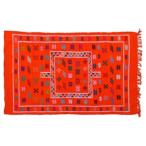 Moroccan Rug, 3' x 4'9''