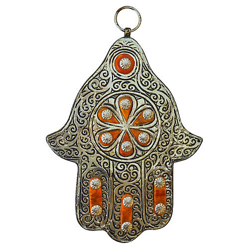 Moroccan Engraved Wall Plaque