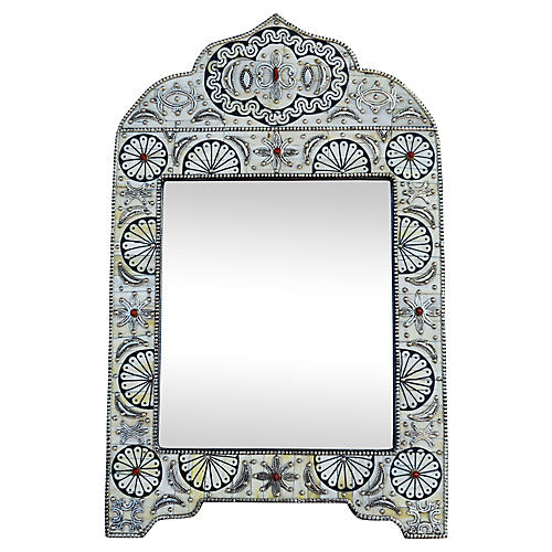 Moroccan Mirror w/ Astral Design