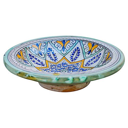 Moorish Ceramic Bowl