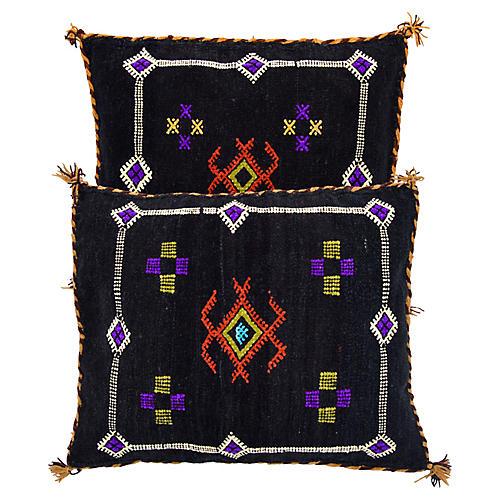 Berber Pillows, Pair