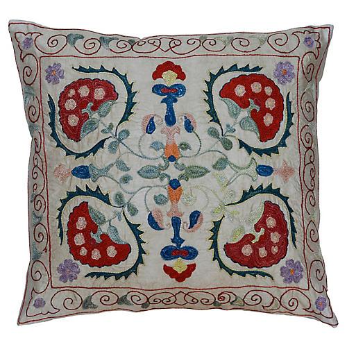 Boho Silk Pillow