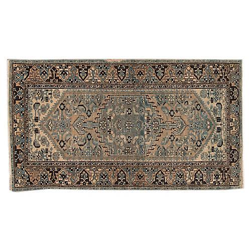 "Antique Persian, 4'2"" x 7'5"""