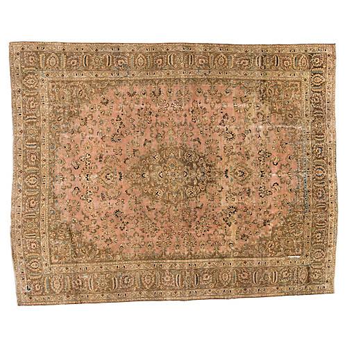 "Persian Tabriz Carpet, 9'8"" x 12'2"""
