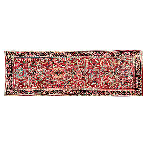 "Vintage Persian Mahal, 3'5"" x 10'5"""
