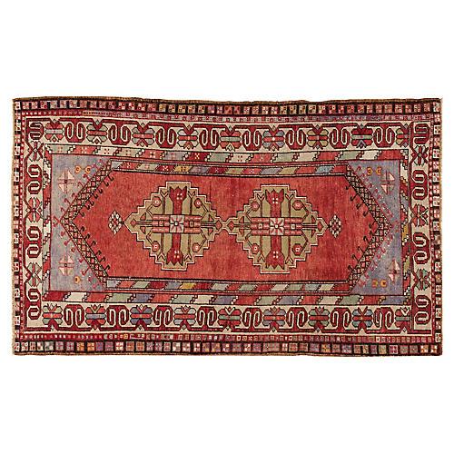"Anatolian Rug, 4' x 6'10"""