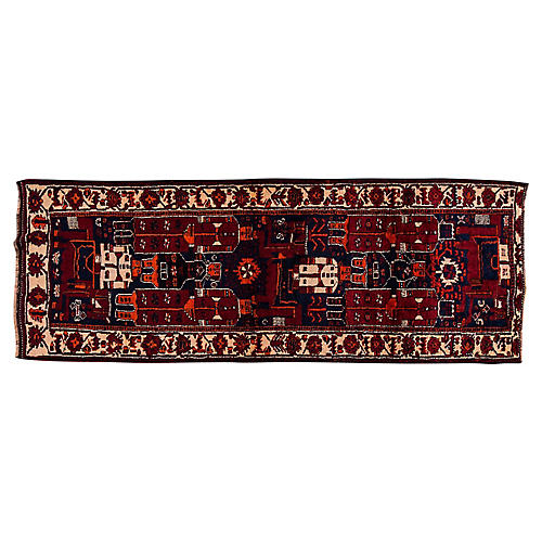 "Persian Shiraz Runner, 4'6"" x 12'"