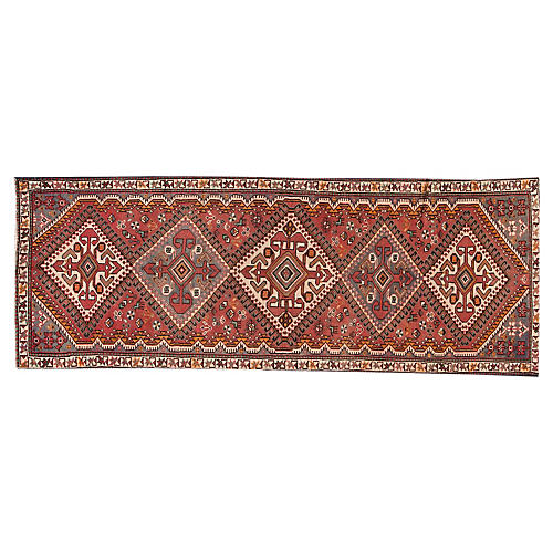 "Antique Shiraz, 3'5"" x 9'8"""