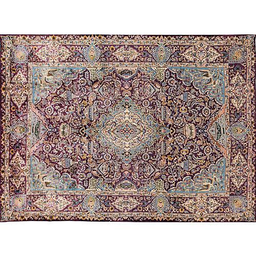 """Vintage Tabriz, 9'7"""" x 13'1"""