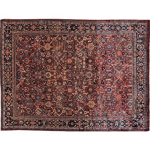 "Persian Mahal Carpet, 8'9"" x 12'"