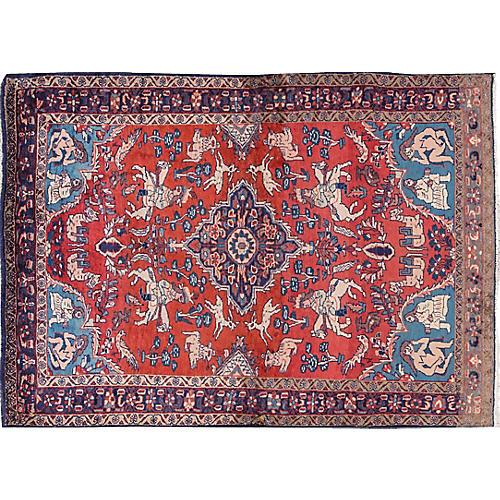 "Vintage Historic Persian, 4'10"" x 9'6"""