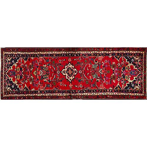 "Vintage Persian Hamadan, 2'10"" x 9'6"""