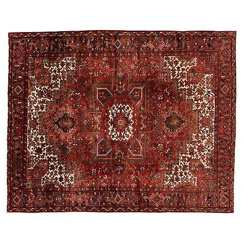 """Vintage Persian Heriz, 8'3"""" x 10'4"""""""
