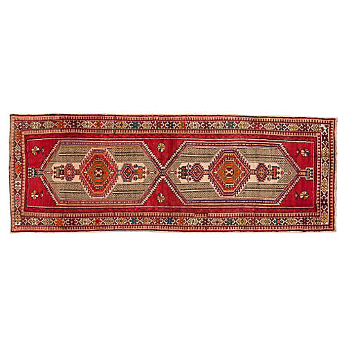 Persian Serab Runner, 4' x 11'2""
