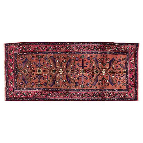 "Persian Hamadan Rug, 3'10"" x 8'10"""
