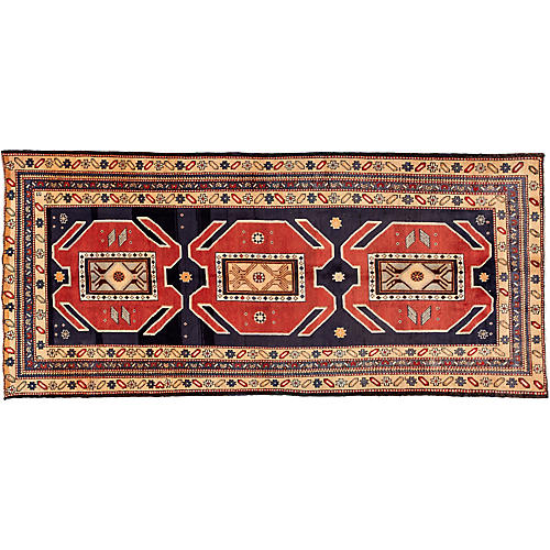 """North West Persian Rug, 4'6"""" x 10'2"""""""