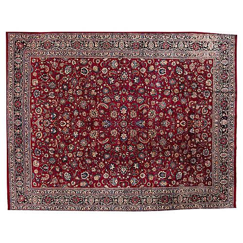 """Mashad Carpet, 9'9"""" x 12'8"""""""