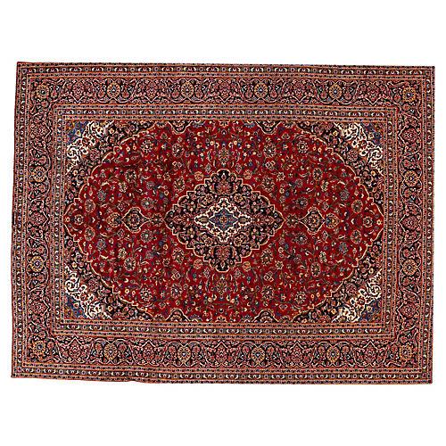 Kashan Carpet, 10' x 13'