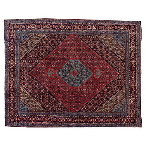 """Bidjar Carpet, 9'9"""" x 12'"""