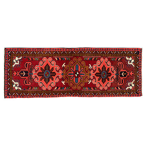 "Persian Karajeh Rug, 2'5"" x 6'6"""
