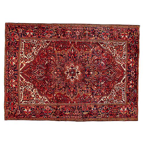Persian Heriz Rug, 8' x 11'
