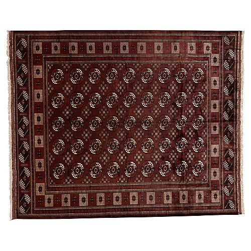 "Turkmen Carpet, 10'2"" x 12'6"""
