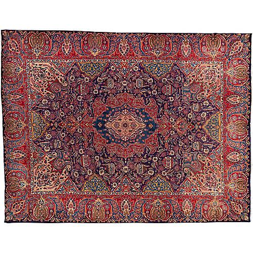 "Vintage Persian Rug, 9'8"" x 12'7"""