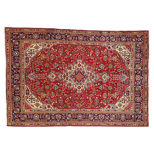 "Vintage Persian Rug, 6'7"" x 9'9"""