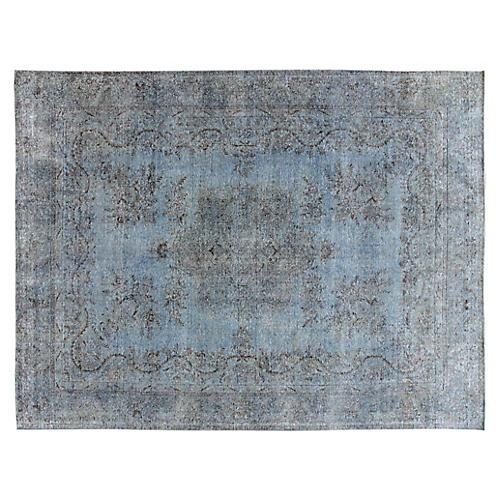 "Distressed Carpet, 9'5"" x 12'6"""
