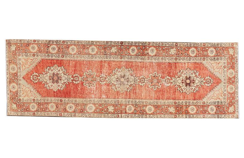 Early 20th Century Anatolian Wool Runner