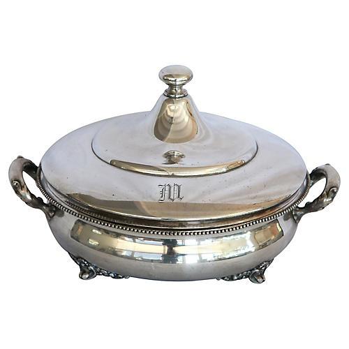 Silver-Plate Vegetable Server