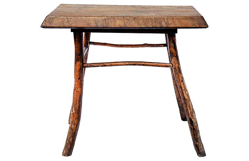 Malibu Firewood Table