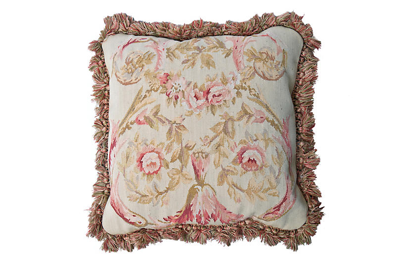 Aubusson Tapestry Pillow