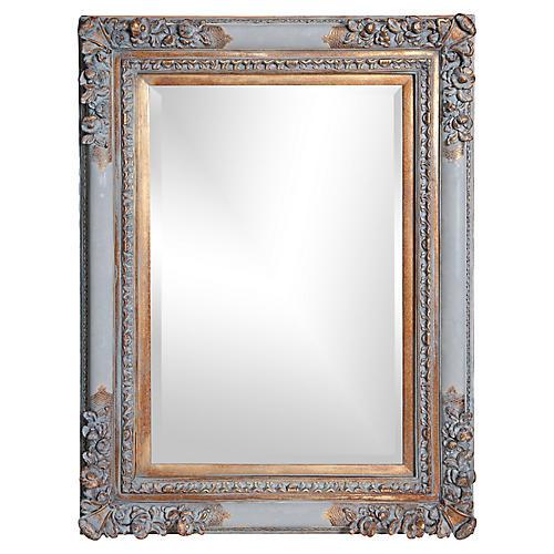Victorian-Style Beveled Mirror